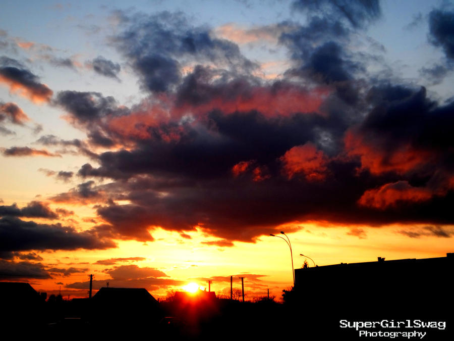 Devilish sunset by SuperGirlSwag