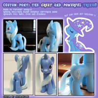 Custom Pony: Trixie by autumnalone