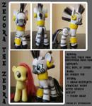 Custom Pon-- er, Zebra: Zecora