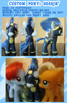 Custom Pony: Soarin