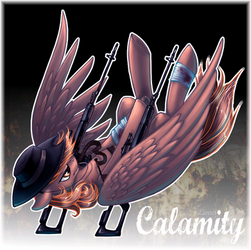 Calamity by LimreiArt