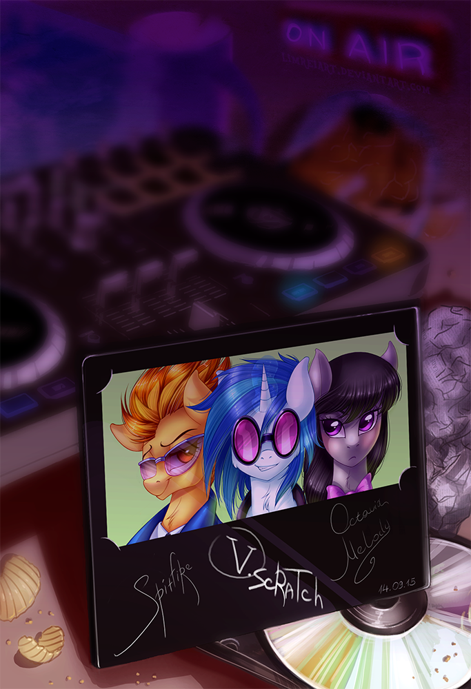 The Vinyl Scratch Tapes by LimreiArt