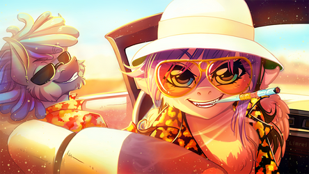 Fear and Loathing in Las Pegasus