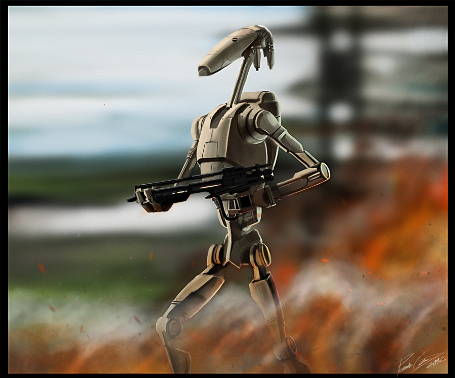 Star Wars I B1 Battle Droid By Petugee On Deviantart