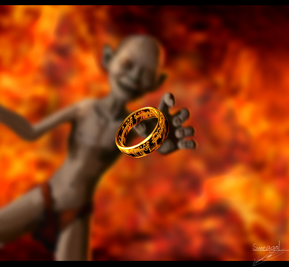 Lord of the rings precious ring