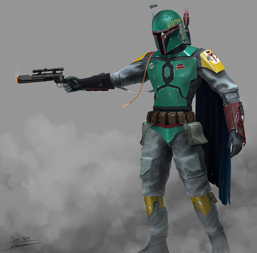Boba Fett by PetuGee