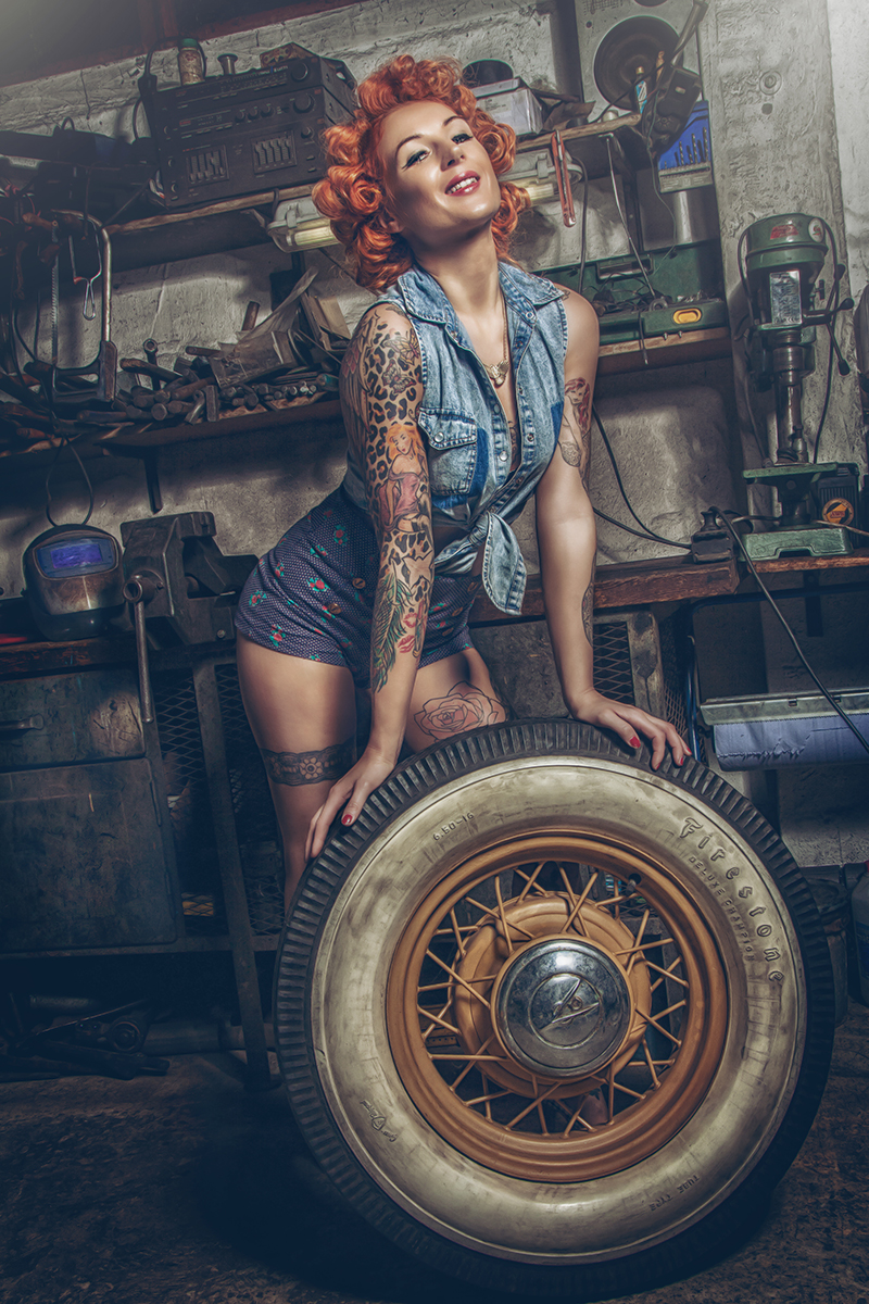 Pin up I by flause