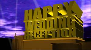 Happy Wedding Reception (2010, original)