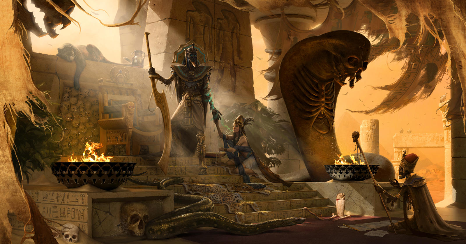 The Tomb King
