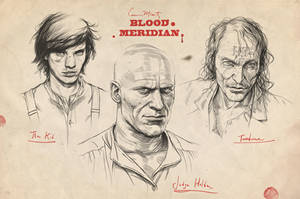 Cormac McCarthy's Blood Meridian - Portraits