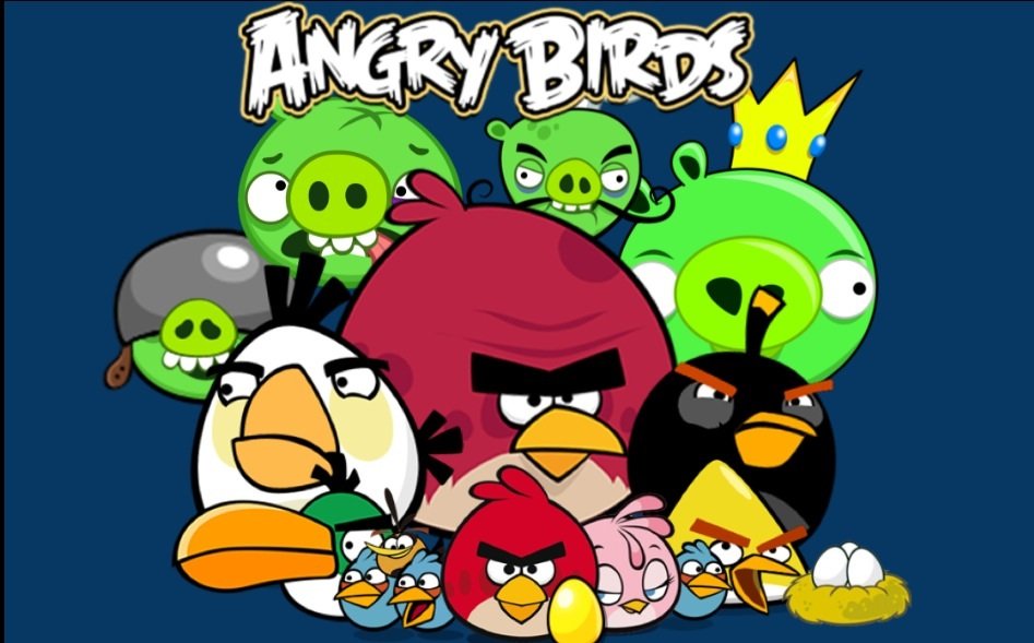 Angry birds wallpaper by anrgygrandpa on deviantart angry birds wallpaper by anrgygrandpa voltagebd Images
