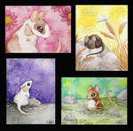 Mouse paintings