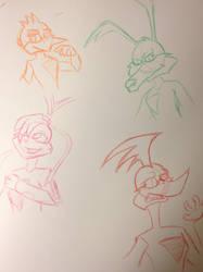 LU Sketches
