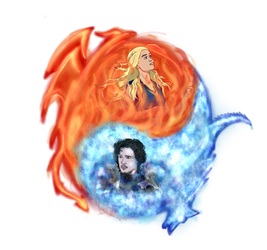 Ice and Fire by iwolf208