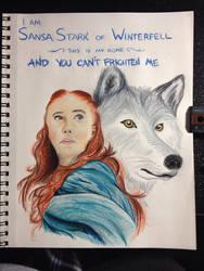 Sansa Stark by iwolf208