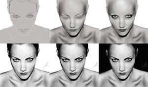 Step by step 'sketch me 2' by fastgirl