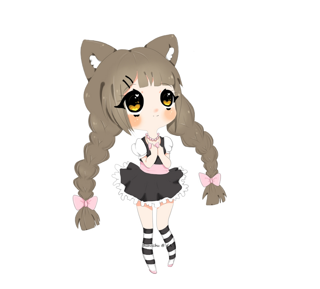 ( AT ) Pinkpastel-kitty by Miumeii