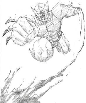 Wolverine Lineart