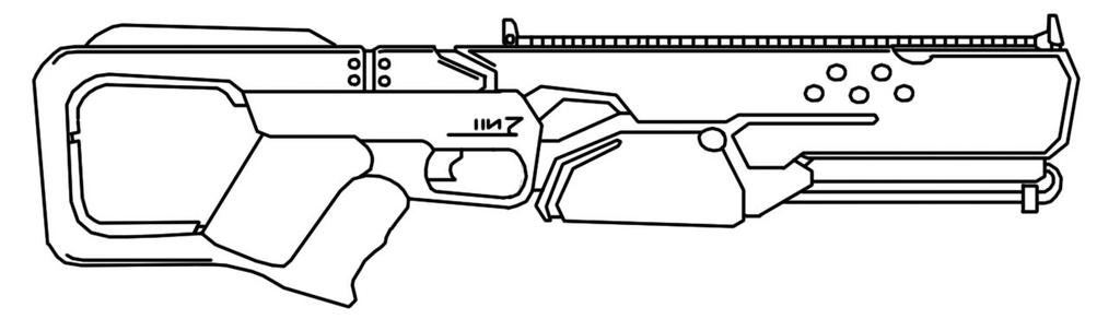 Plasma Rifle 1 by DestructoWad