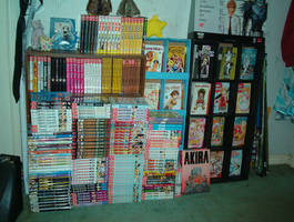 My Updated Manga Collection by Tanime-chan