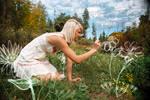 Drawing Her Wonderland..