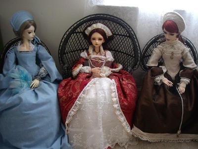 More tudor inspired dresses by rosewarrior