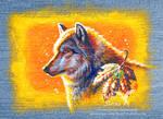 Autumn Wolf by rieke-b