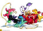 Baby Pet Dragons by rieke-b