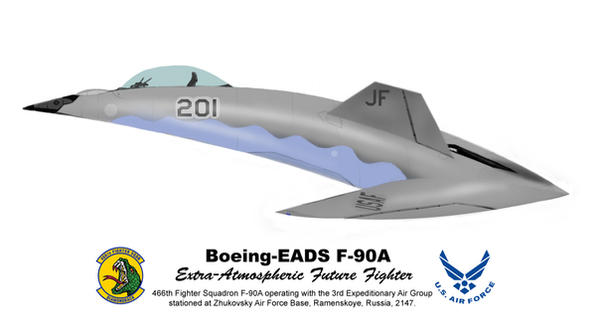 F-90A Future Fighter by jackal111