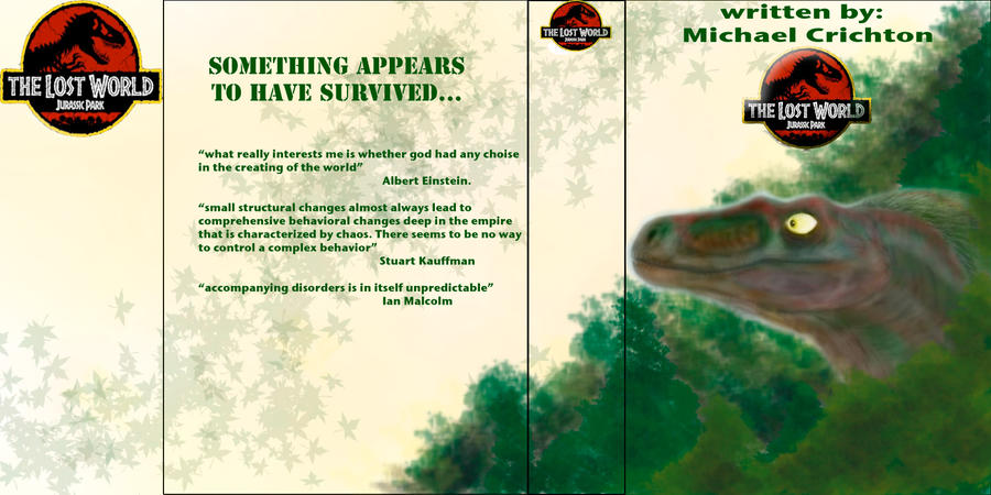 an analysis of the lost world by michael crichton Michael crichton was born in chicago in 1942 his novels include next, state of fear, prey, timeline, jurassic park, and the andromeda strain he was also the creator of the television series er one of the most popular writers in the world, his books have been made into thirteen films, and.
