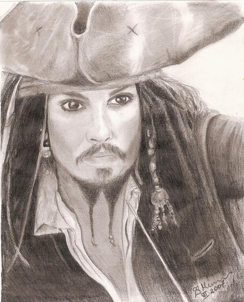 Jack Sparrow by Elfik777