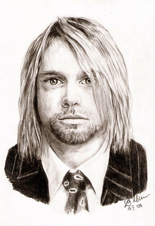 Kurt Cobain by Elfik777