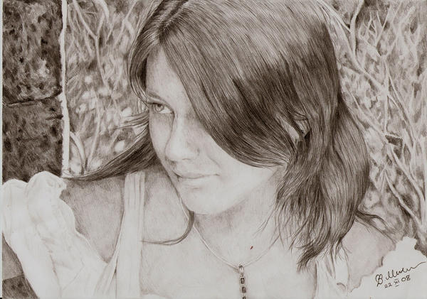 Self-portrait 2 by Elfik777