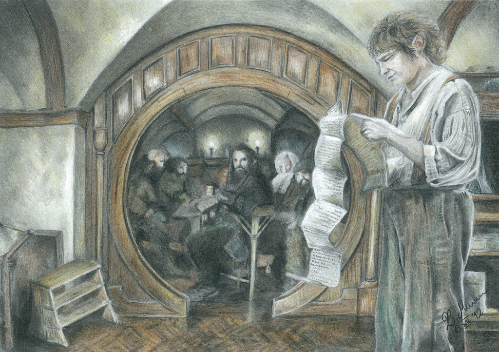 Hobbit: An Unexpected Journey by Elfik777