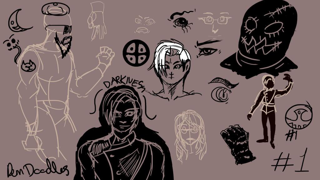 Digi-Doodles by Motusification