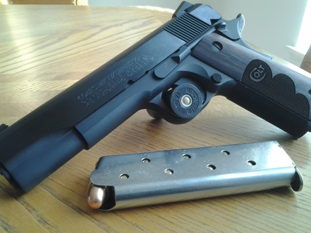 Colt 1911, Classic American Steel by blackiechan