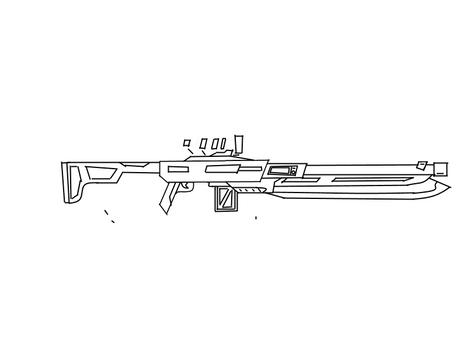 Gun sketch