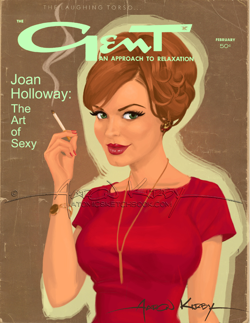 Joan Holloway in Gent by AtomicKirby