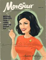 Megan Draper in Monsieur by AtomicKirby