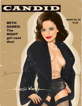 Beth Dawes in Candid