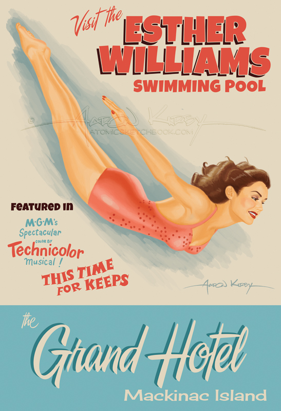 Esther Williams Swimming Pool by AtomicKirby on DeviantArt