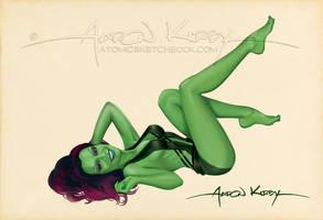 Gamora by Aaron Kirby