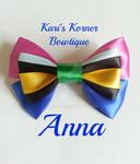 Disney Inspired Bow - Anna by aidahayou