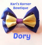 Disney Inspired Bow - Dory by aidahayou