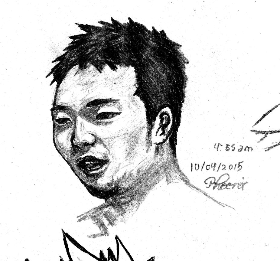 Sketch Tetsuya Merman by SebastianMerman