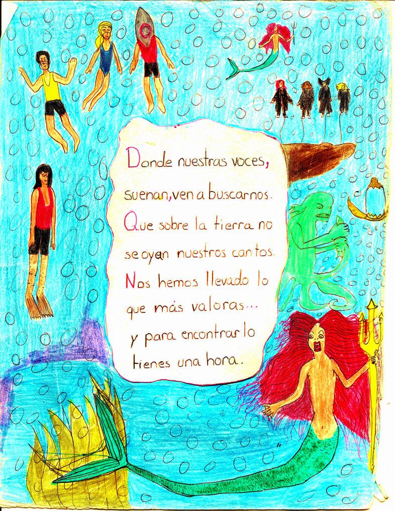 HP Golden Egg Mermaid Song Latin Spanish 2005 by SebastianMerman