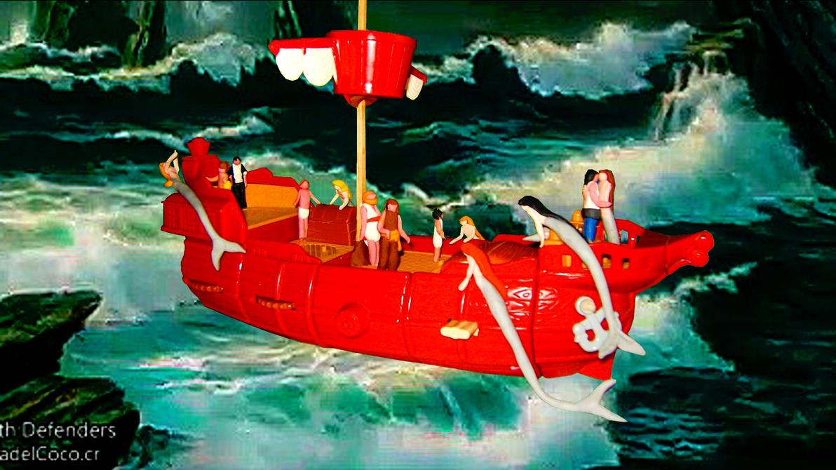 Odiseo y las Sirenas - Odysseus and the Sirens by SebastianMerman