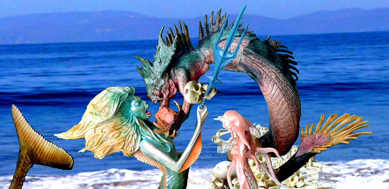 Man Eating Merpeople -  Sirenas Devoradoras by SebastianMerman