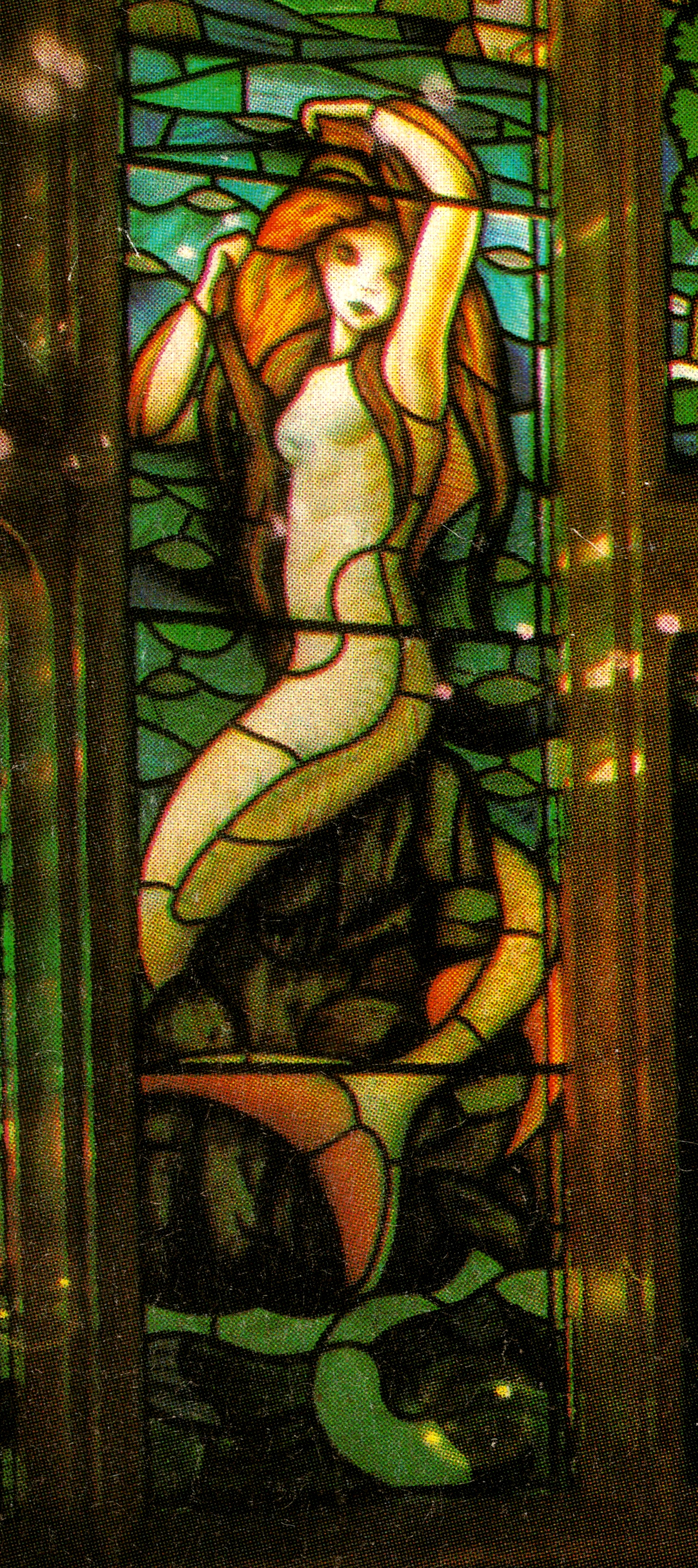 Harry Potter Wall Mural Harry Potter Stained Glass Mermaid By Sebastianmerman On