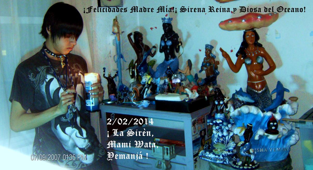 2014 Altar Y Festa de Yemanja, Mami Wata, La Siren by SebastianMerman